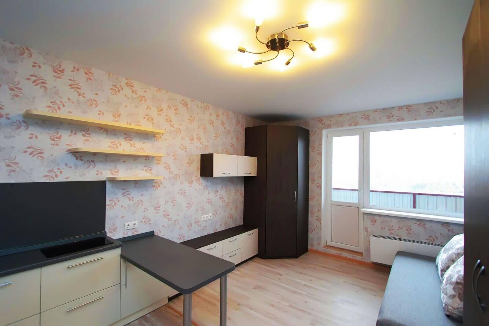 Недорогой ремонт однокомнатной квартиры фото
